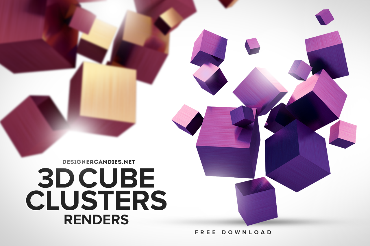 3D Cube Clusters