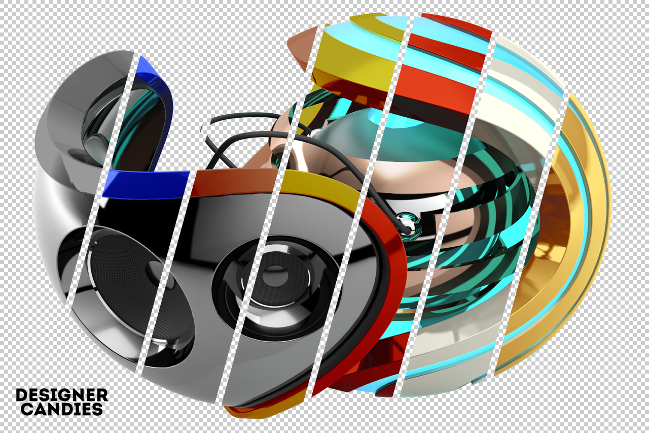 Abstract 3D Orb Render 2