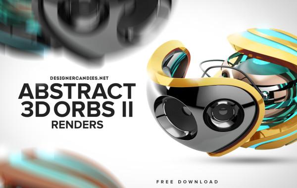 Abstract 3D Orbs 2