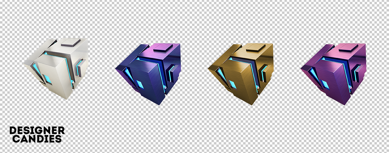Stylish Cubes Renders v2
