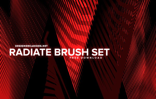 DesignerCandies Radiate Brush Set