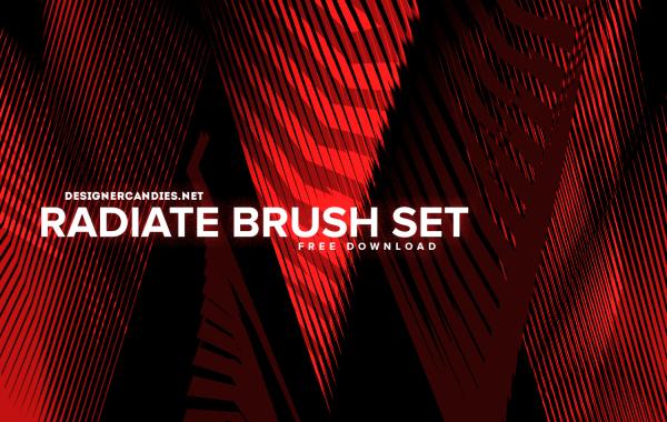 DesignerCandies Radiate Brush Set