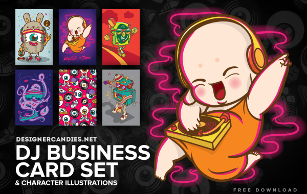 DJ Business Card Designs