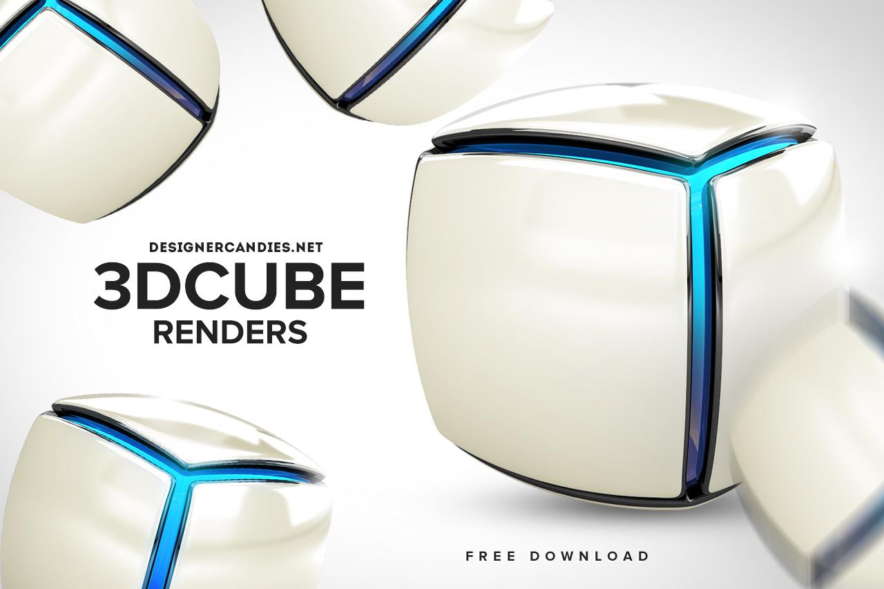 Free 3D Cube Renders