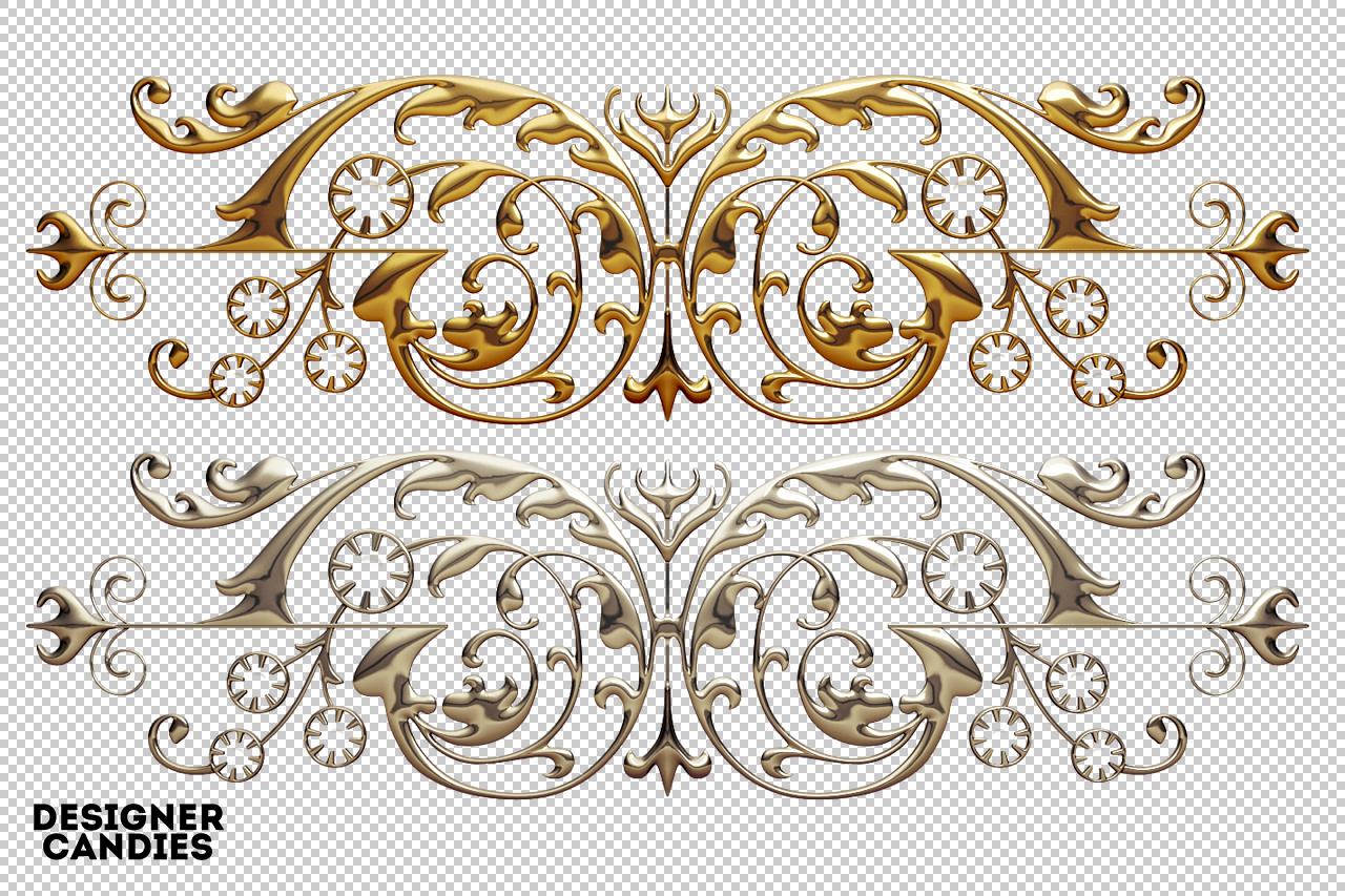 Free Decorative Element Renders
