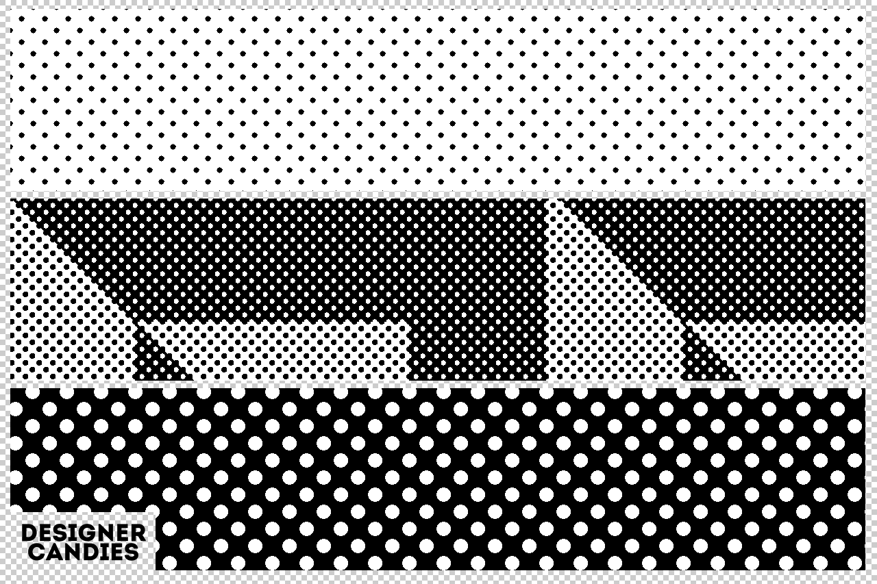 Free Halftone Pattern for Photoshop