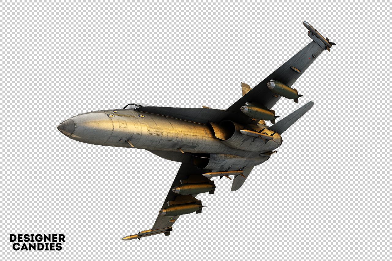 Free Jet Plane Render