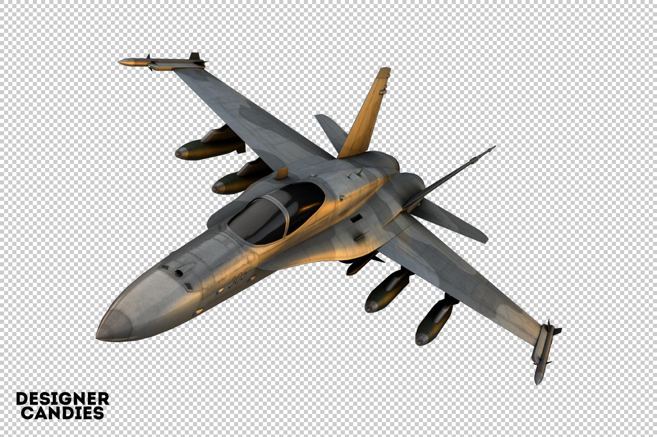 Free Jet Render
