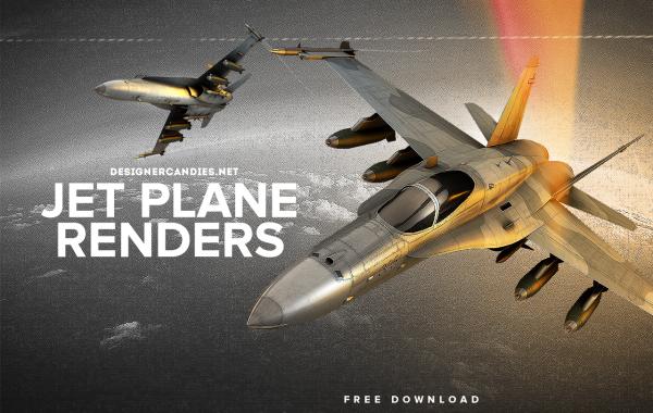 Free Jet Renders
