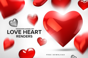 Free Love Heart Renders
