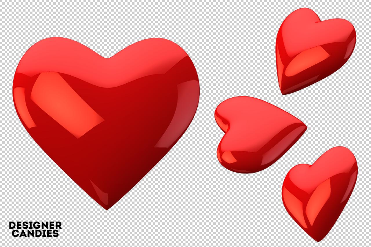 Free Love Heart Renders