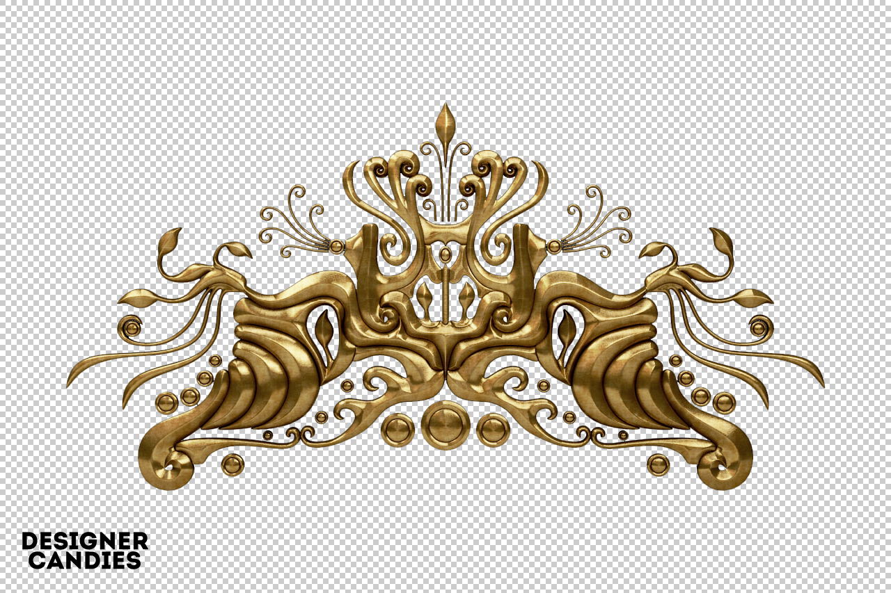Free Ornate Element Render