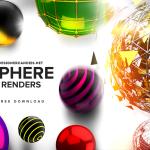 Free Sphere Renders