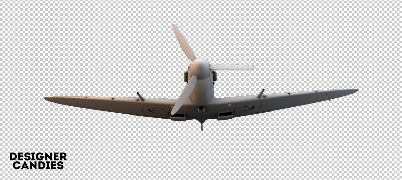 Free Spitfire Render
