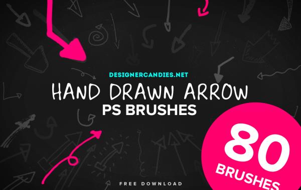 Hand Drawn Arrow Brushes
