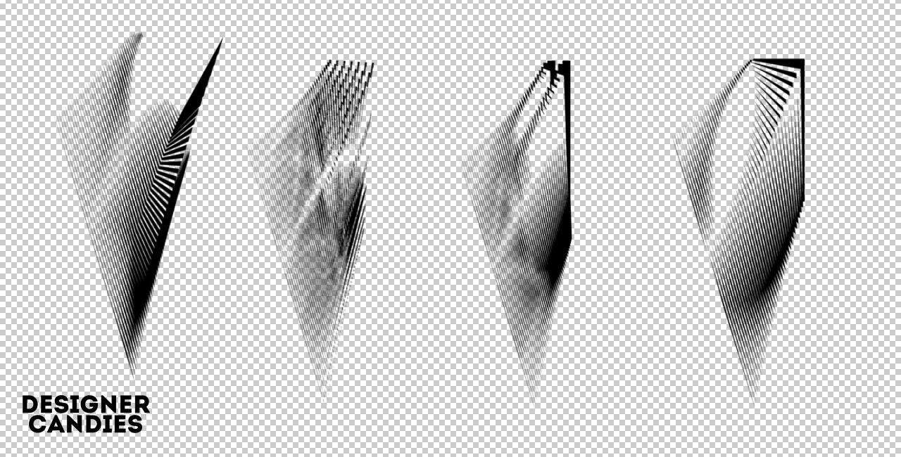 Radiate Brush Set by DesignerCandies