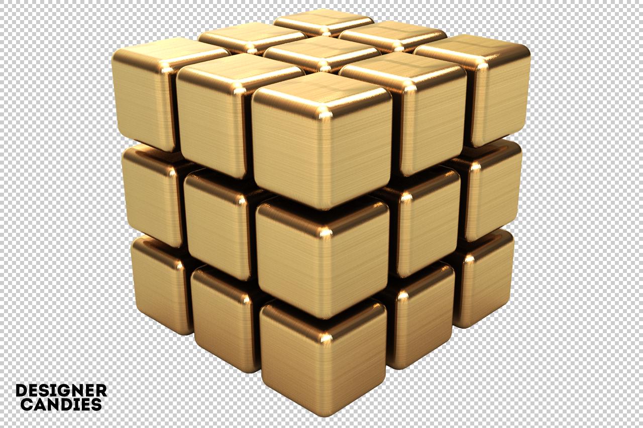 Simple 3D Cube Render