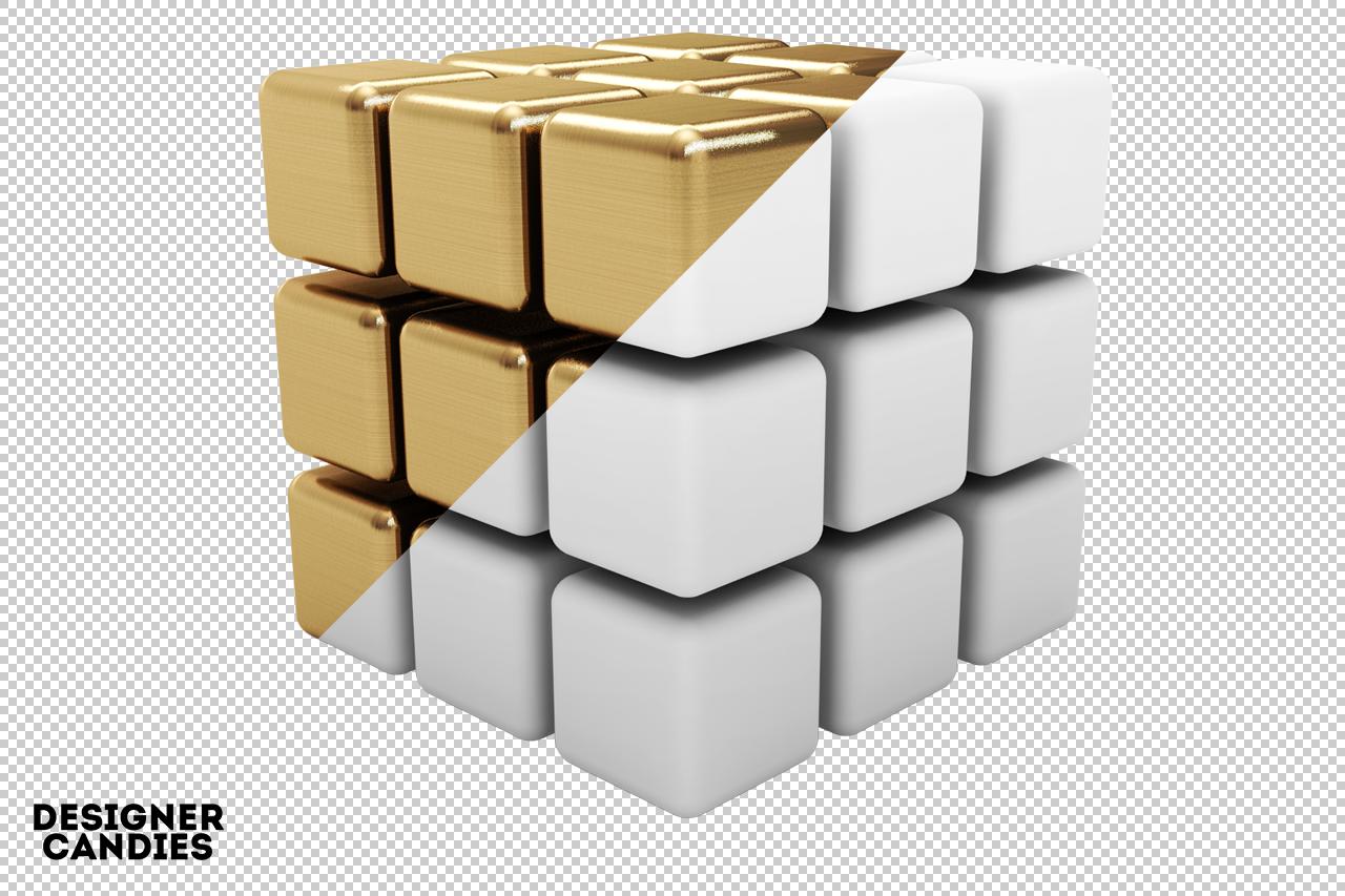 Simple Cube Render