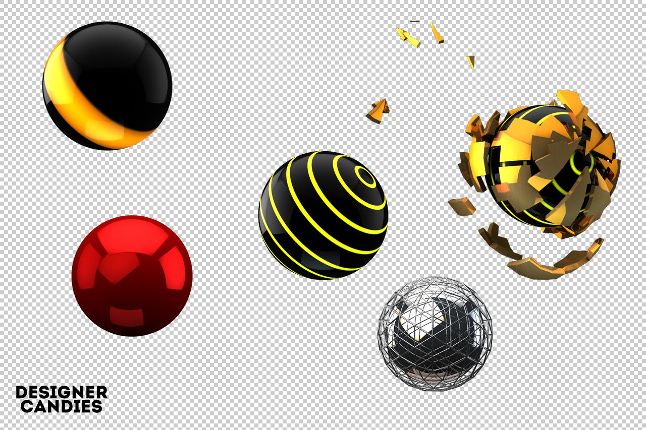 Sphere Renders 1