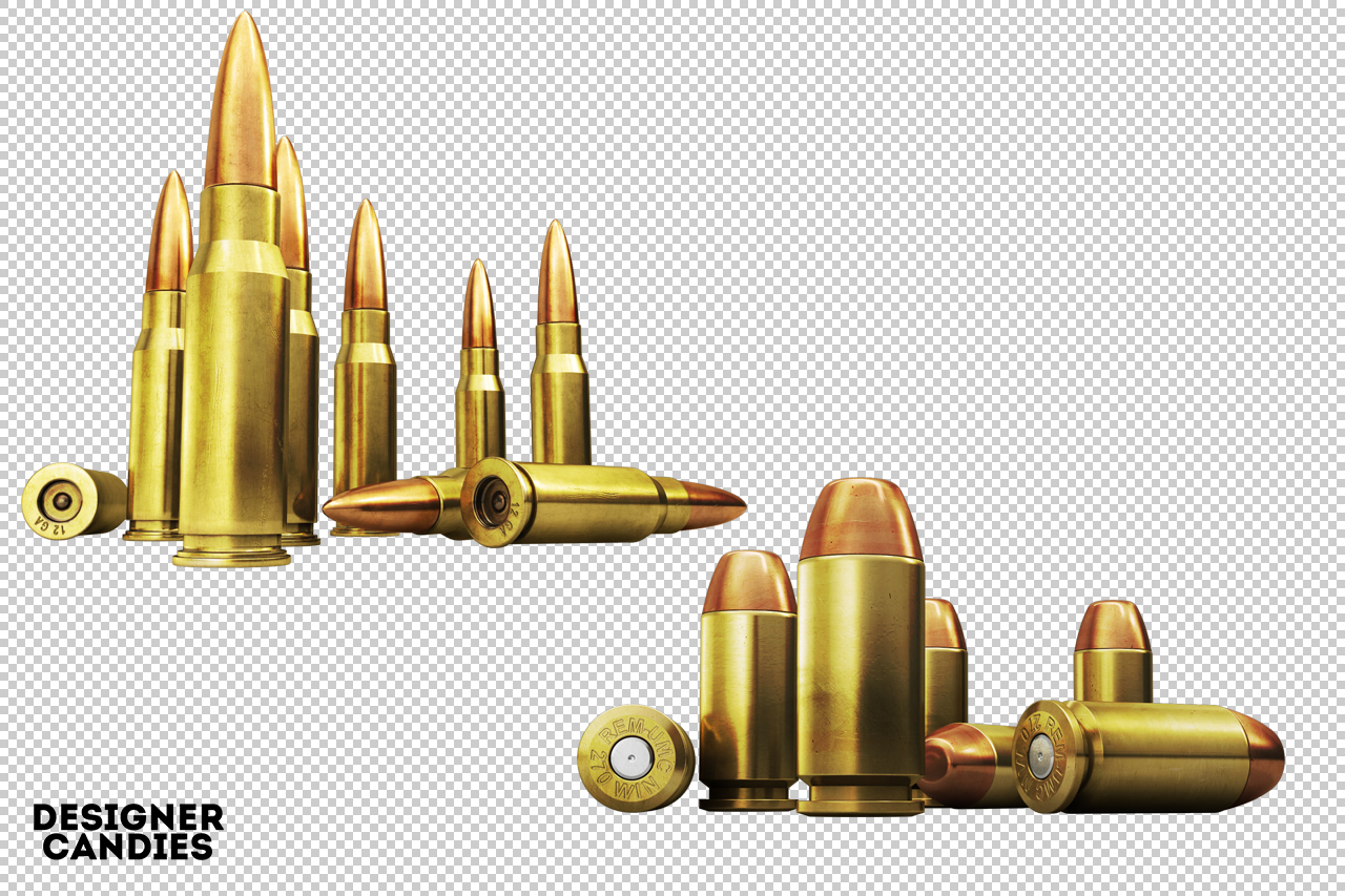 Bullets Piled up as Ammunition