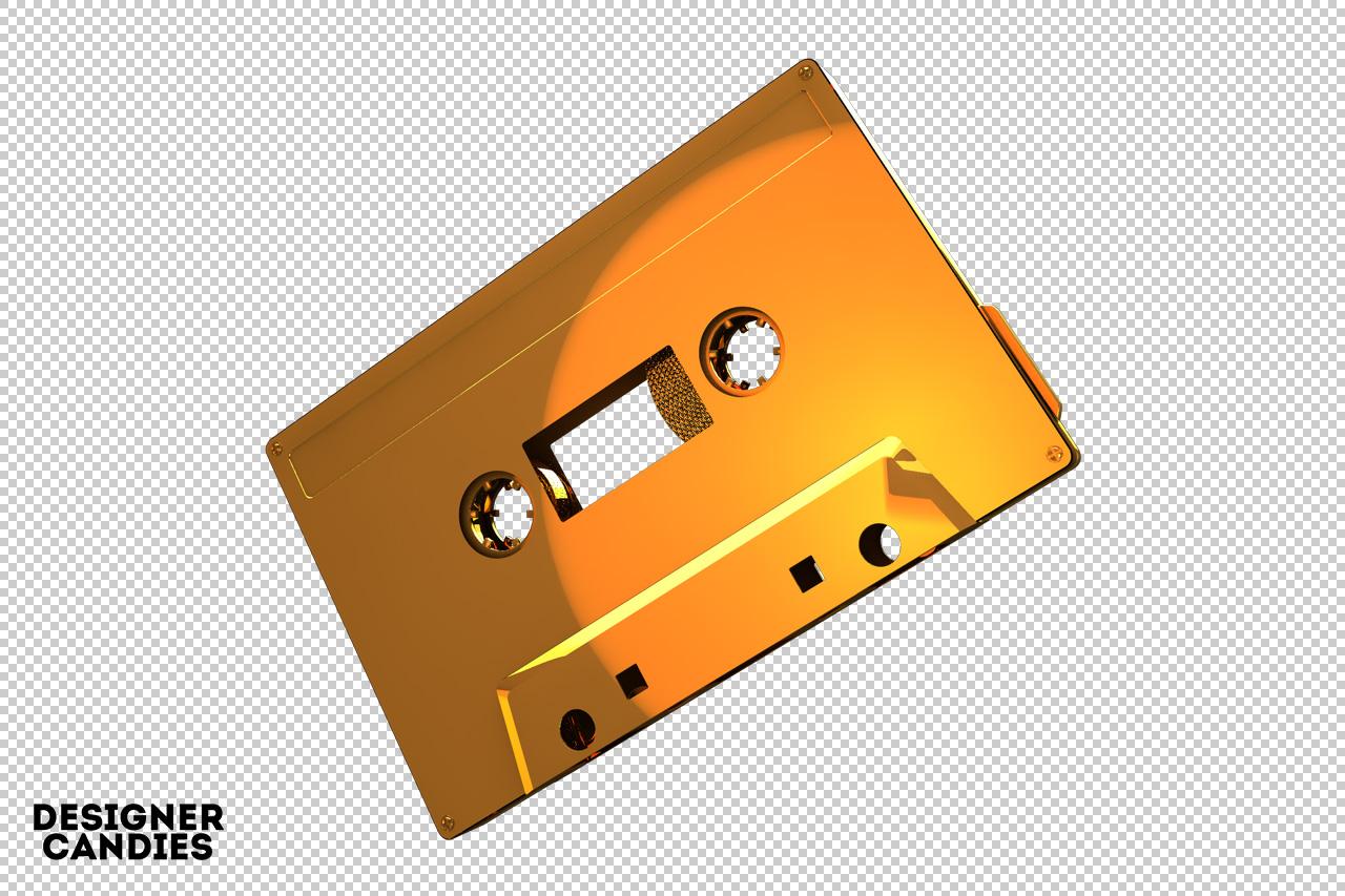 Free Cassette Tape Render