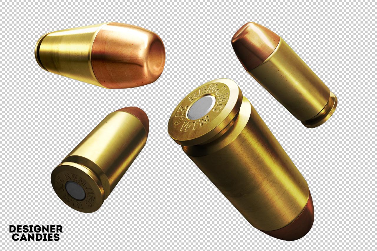 3D Bullet Renders