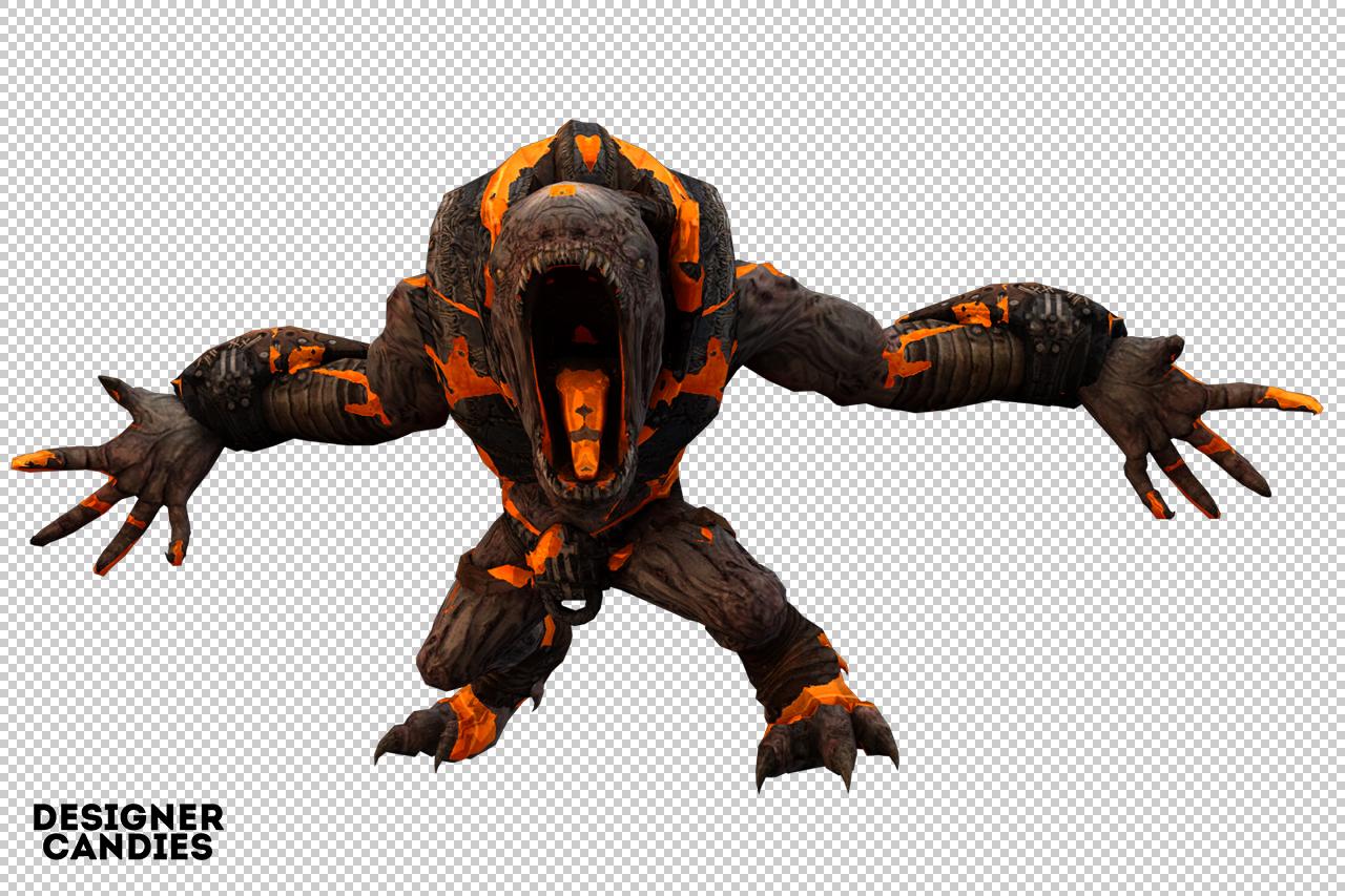 Free 3D Monster Render