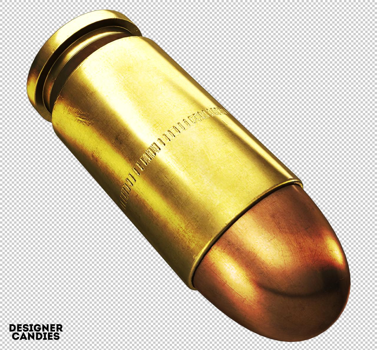 High Resolution Bullet Render