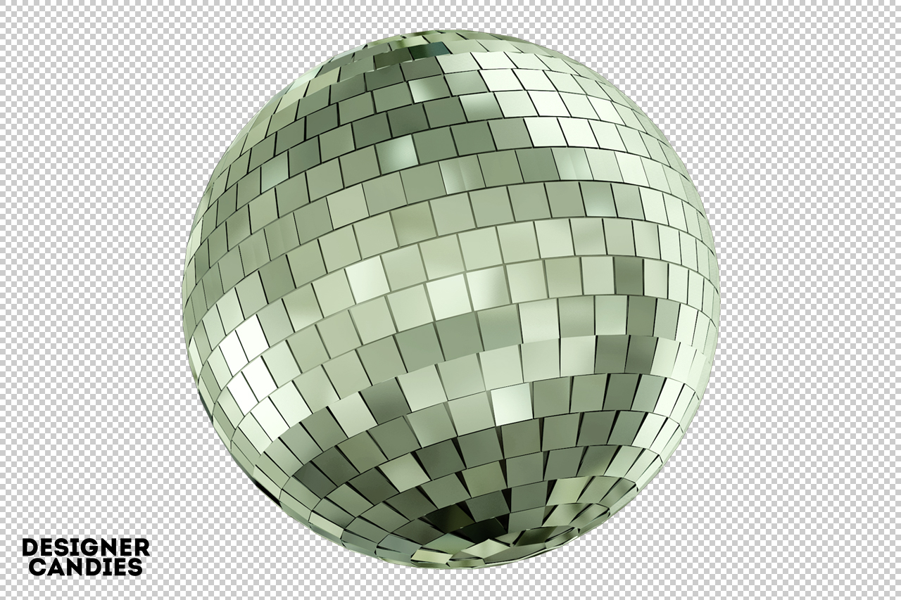 Free Mirror Ball Render