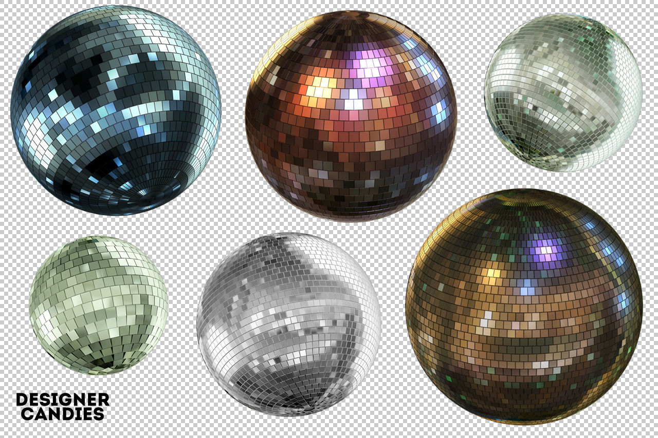 Free Mirror Ball Renders