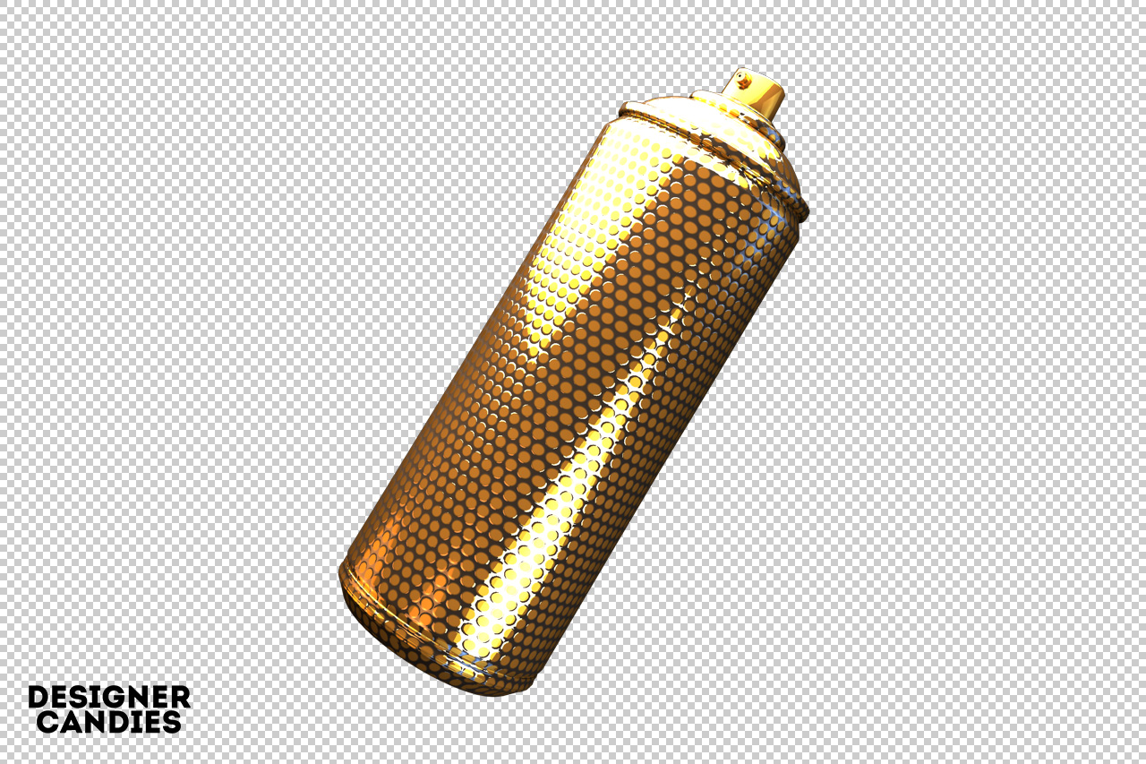 Free Spray Can Render
