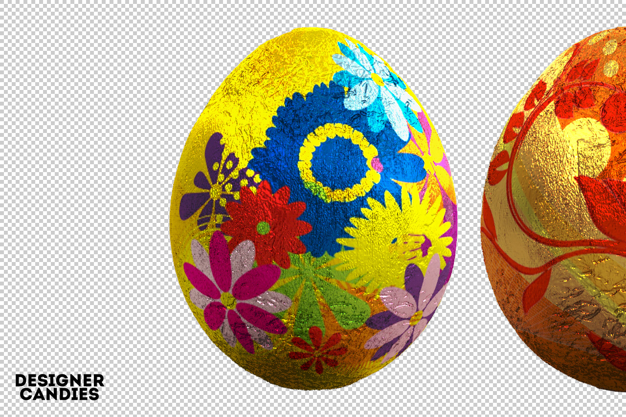 Free Easter Egg .PNGs