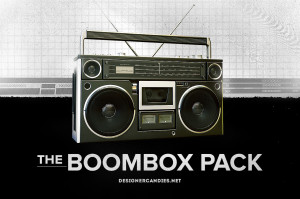 Free Boombox Renders