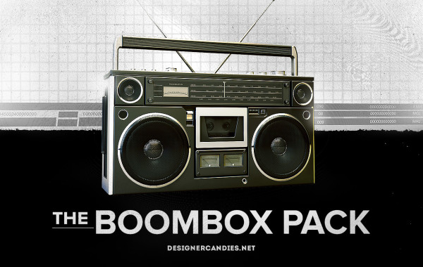 Free Boombox Renders
