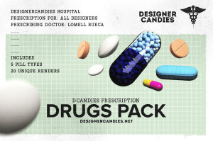 DCandies Drug Renders