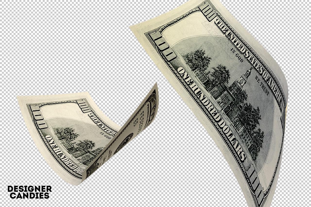 Falling Dollar Bills