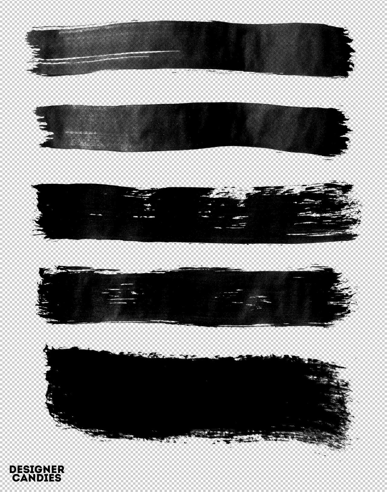 Free Photoshop Brush Strokes Pack