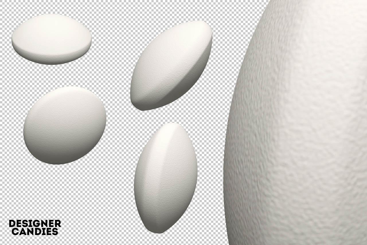 White Tablet Renders