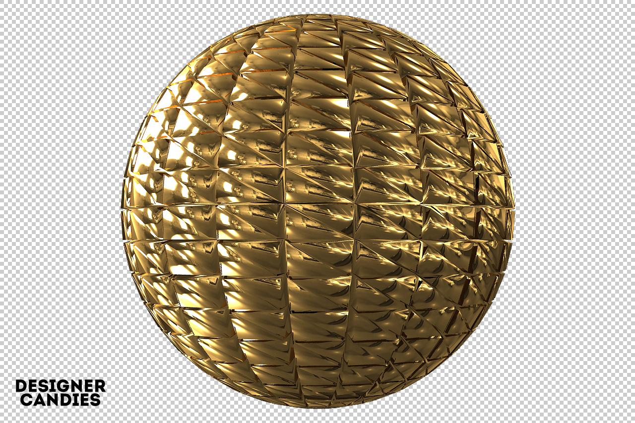 Metal Sphere Render