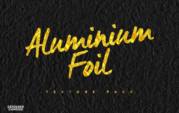 Free Aluminum Foil Texture Pack