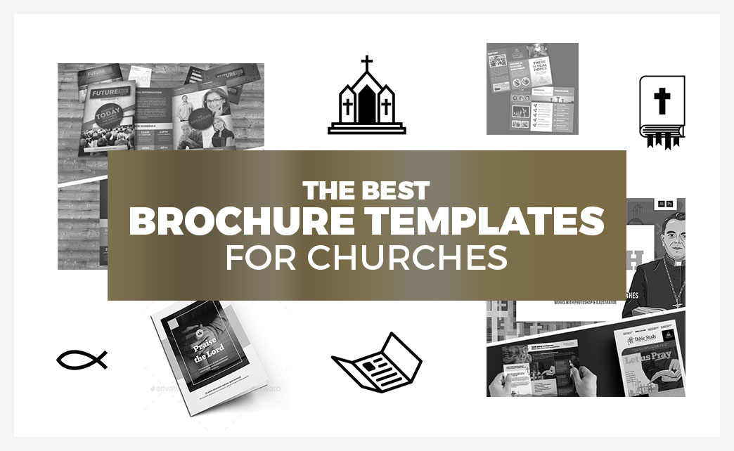 Church Brochure Templates for Photoshop & Illustrator