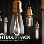 Lightbulb Renders Pack