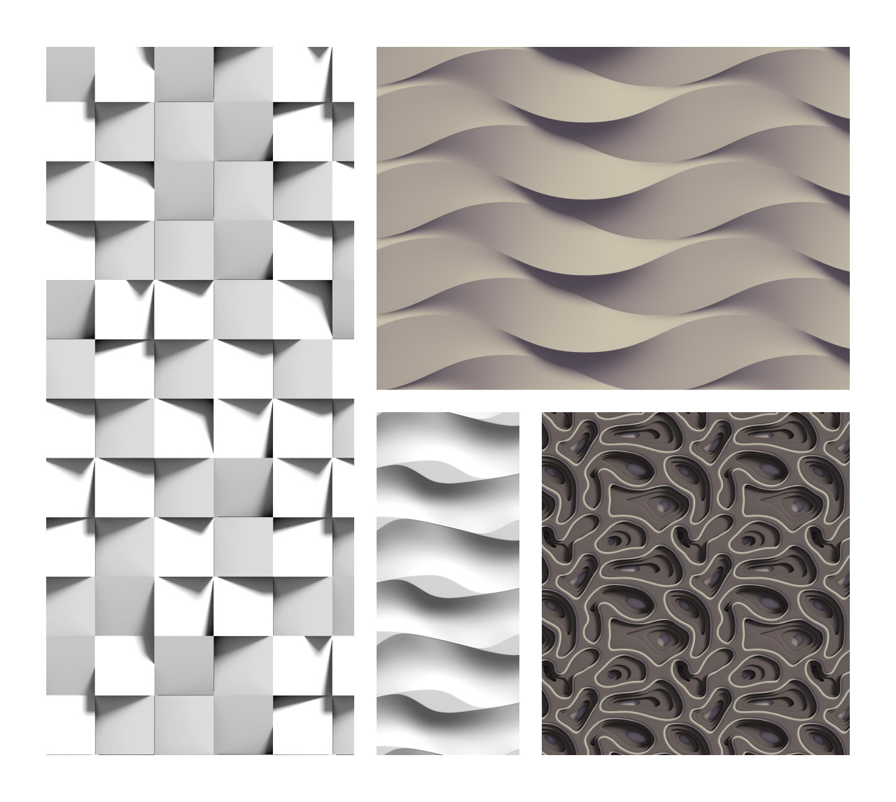 Luxury 3D Patterns for Photoshop