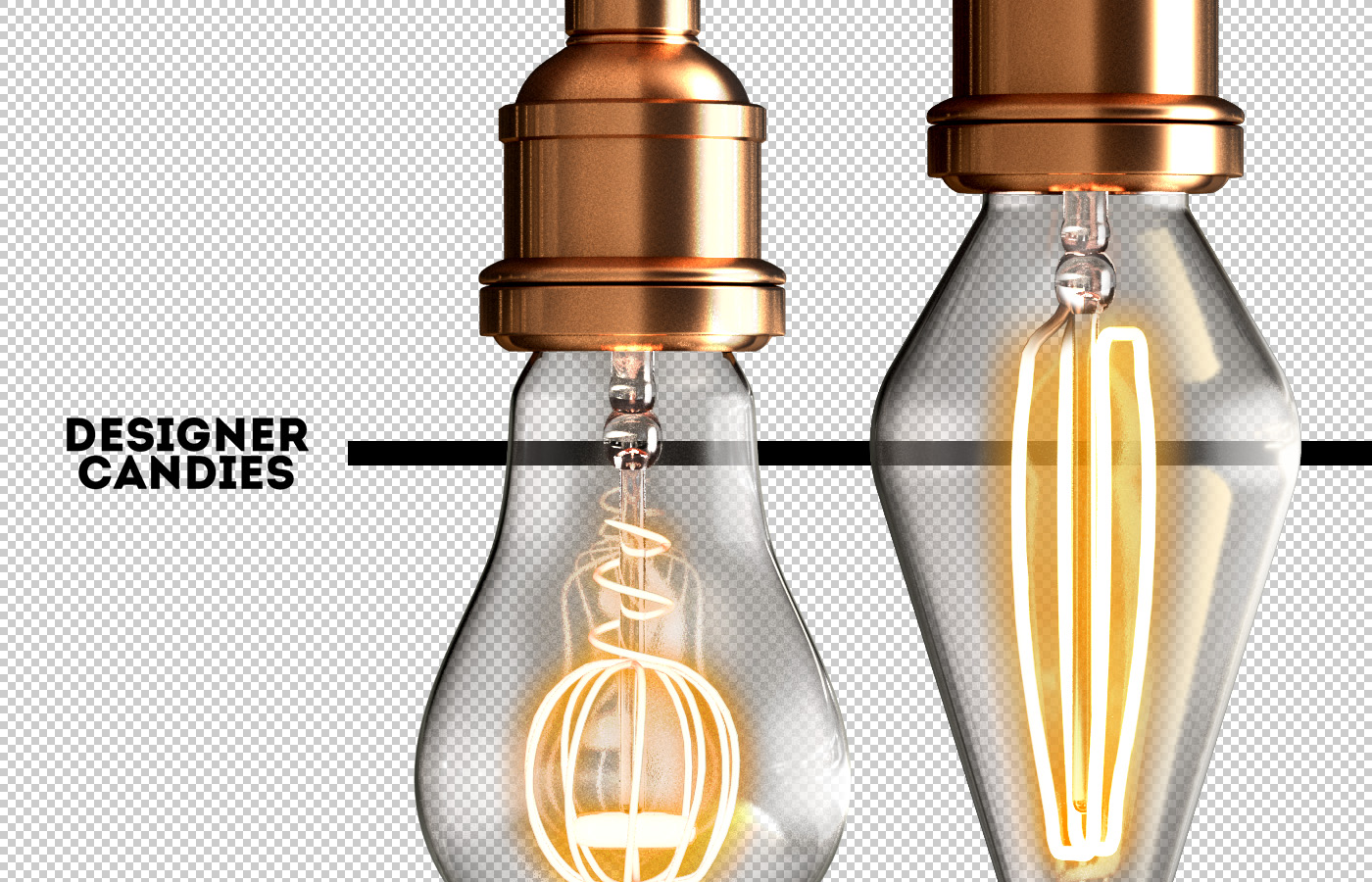 Transparent PNG Lightbulbs