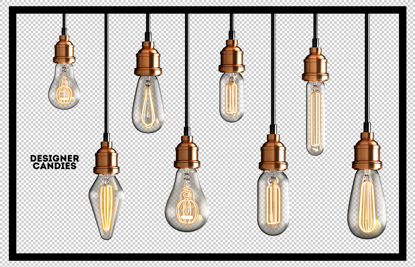 Transparent PNG Light Bulbs