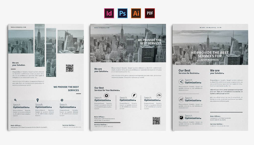 Business Flyer Templates INDD