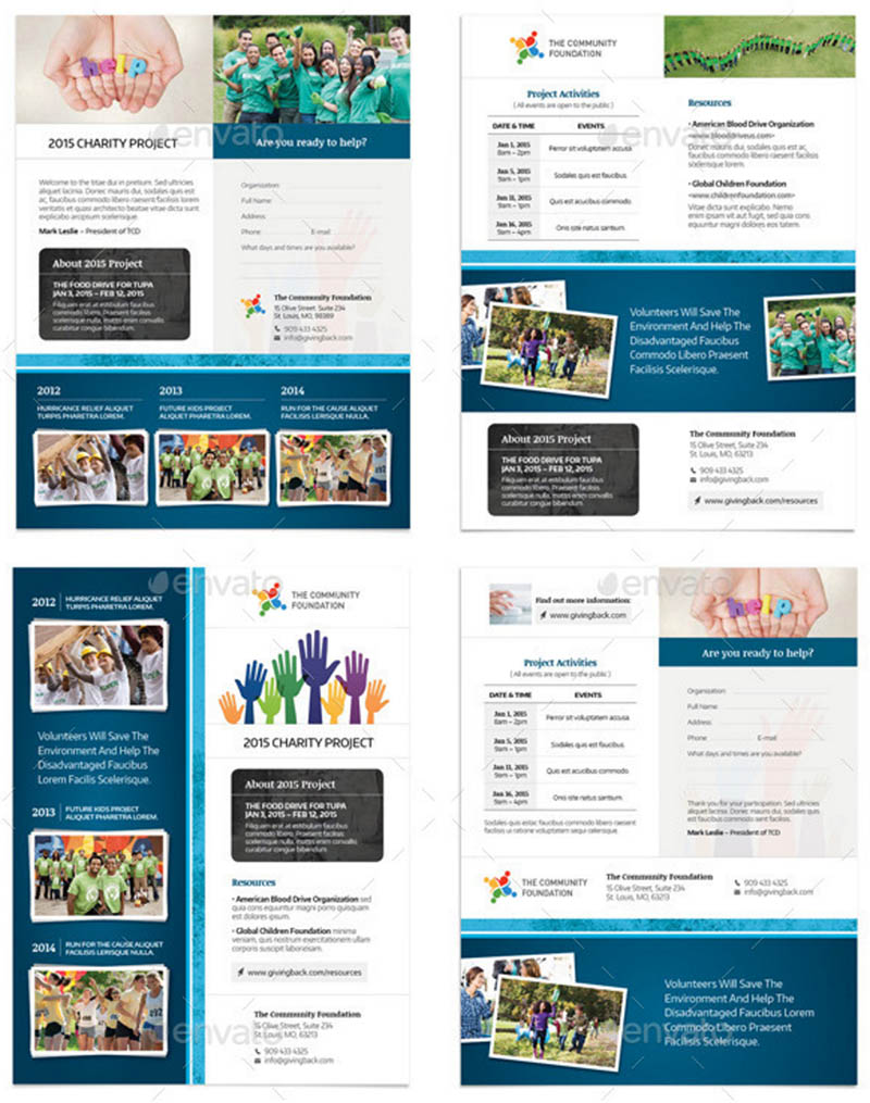 Community Group Flyer Templates