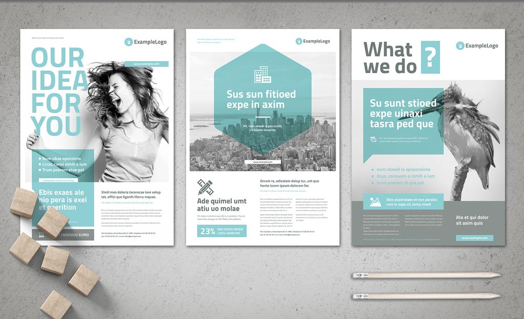 Creative Business Flyer INDD