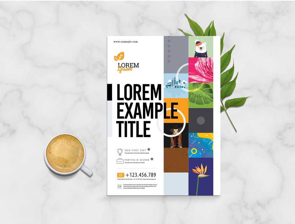 Creative Event Flyer Template (INDD, InDesign)