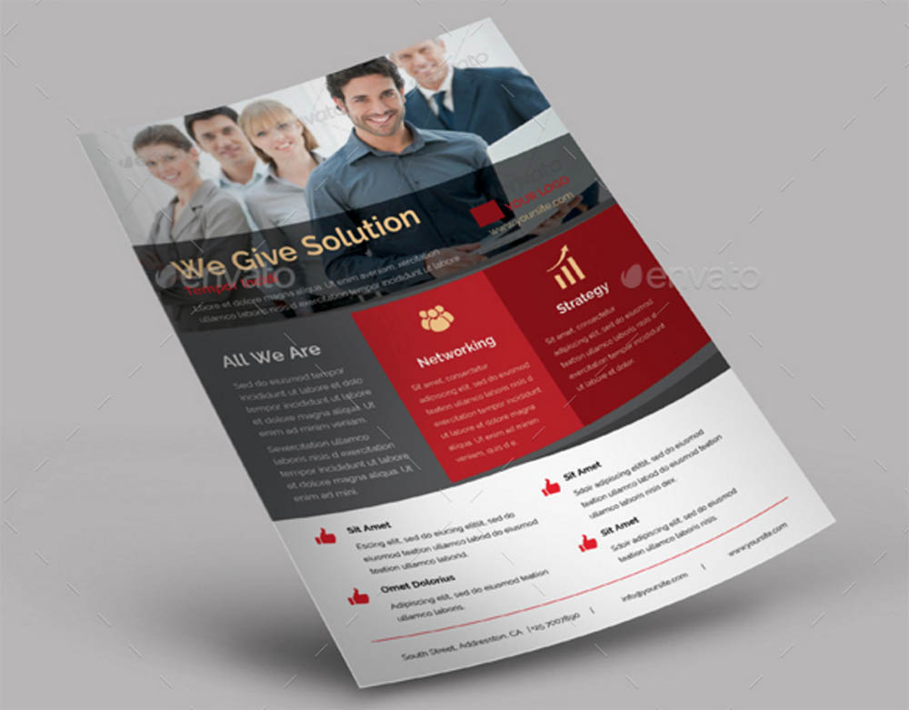 Elegant InDesign Flyer Template
